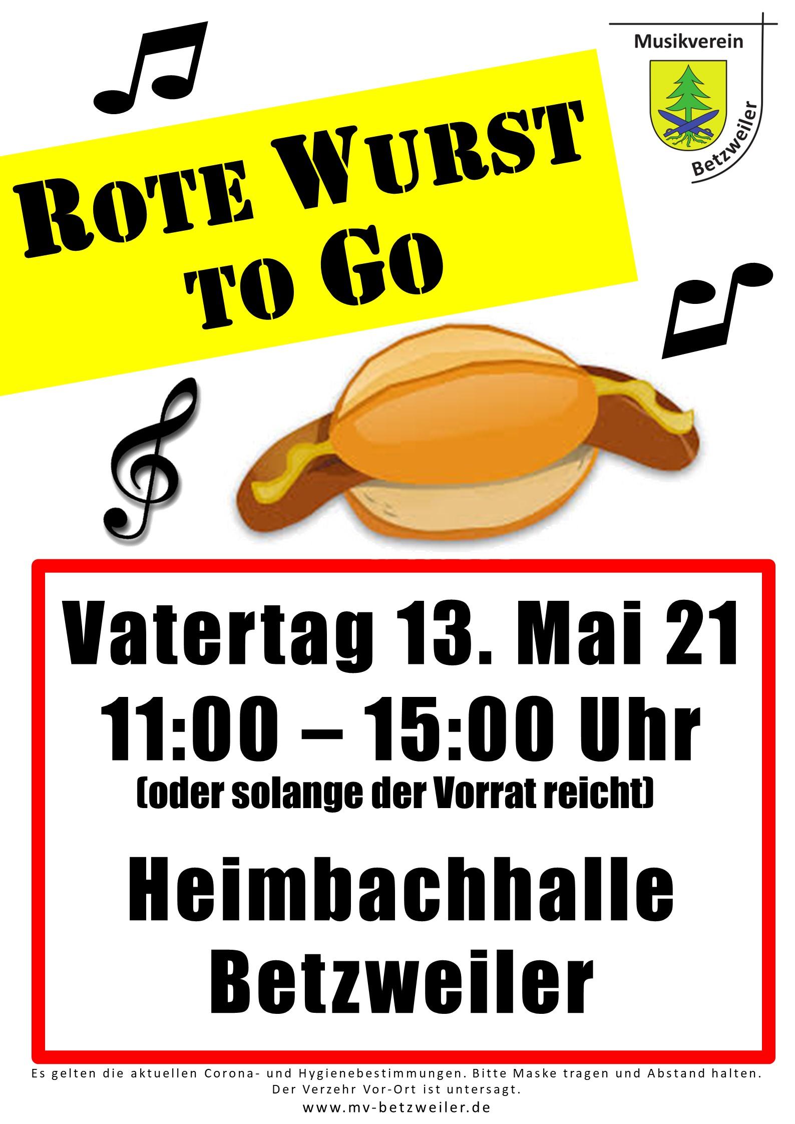 Plakat Vatertag 2021